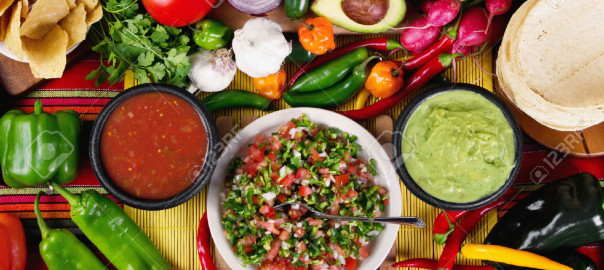27442985-Stock-image-of-traditional-mexican-food-salsas-and-ingredients-Stock-Photo