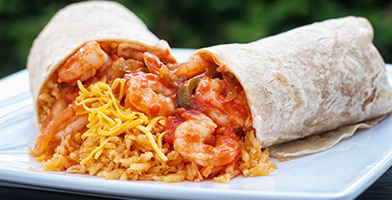 shrimp-burrito