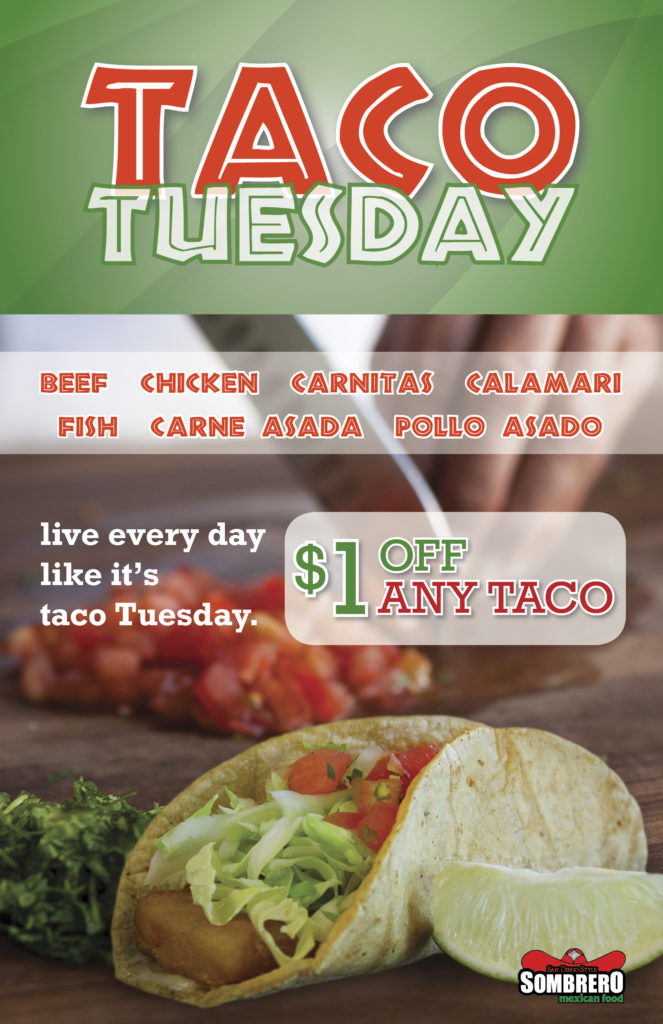 Tuesday Night Fast Food Deals